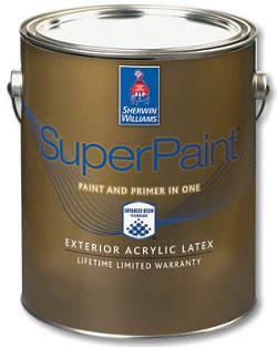 Amazing Sherwin Williams Super Paint Is Golden Touch Paintings 4 Year Warranty Paint,  Backed By A 25 Year Manufactureu0027s Guarantee. Super Paint Provides A Dirt ...